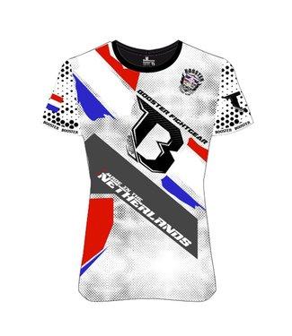 Booster T-shirt Nederland Wit