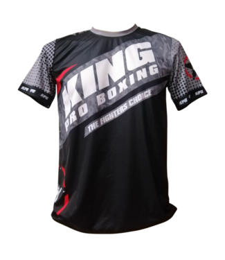 King Pro Boxing T-shirt Star Vintage Stone