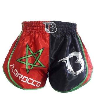 Booster Kickboks Broekje Marokko Rood