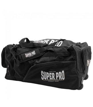 Super Pro Sporttas Trolley Zwart