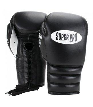 Super Pro Bokshandschoenen Knockout Zwart