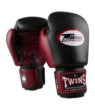 Twins Special Bokshandschoenen BGVL 3 Zwart/Bordeaux
