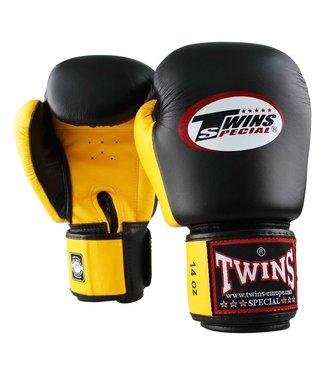 Twins Bokshandschoenen BGVL 3 Zwart/Geel
