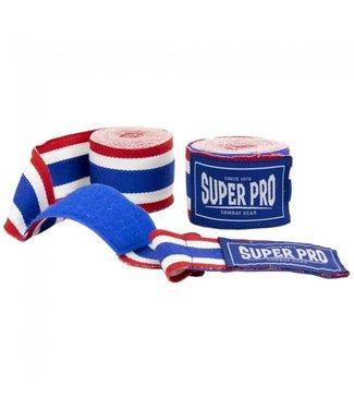 Super Pro Bandage Thaise Vlag Blauw