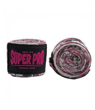 Super Pro Camo Bandage Roze