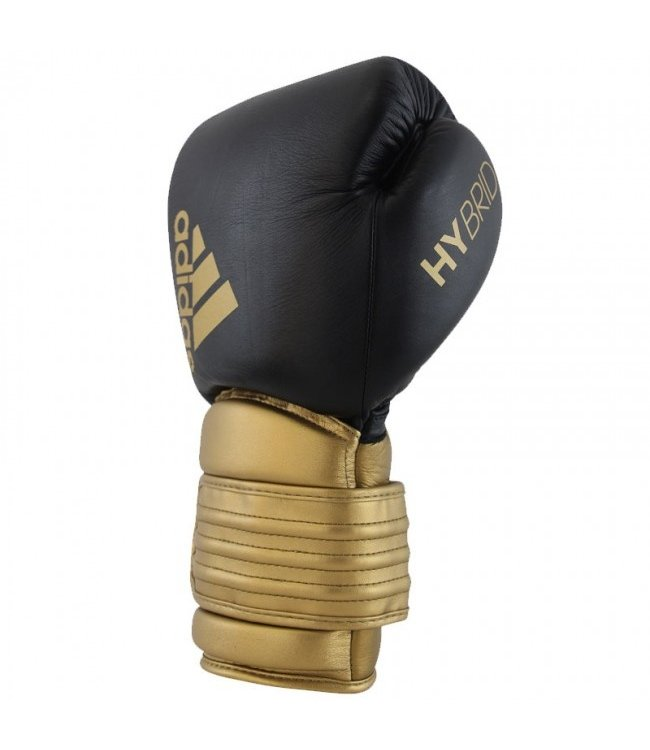 Adidas Boxing Gloves Hybrid 300 Black/Gold