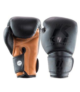 King Pro Boxing Bokshandschoenen Star Zwart/Bruin