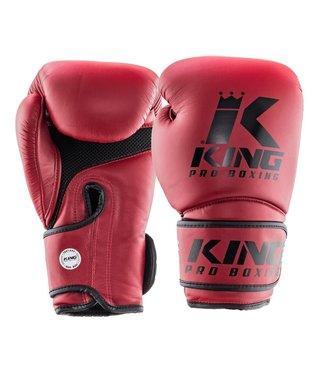 King Boxing Gloves Star Mesh Red