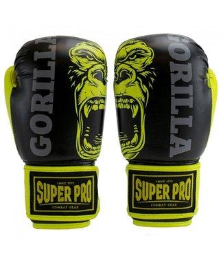 Super Pro Kinder Bokshandschoenen Gorilla Geel