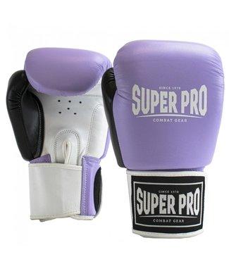 Super Pro Boxing Gloves Enforcer Purple