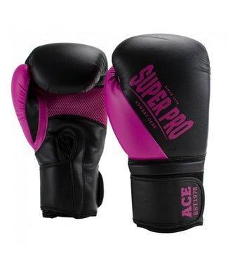 Super Pro Boxing Gloves ACE Pink