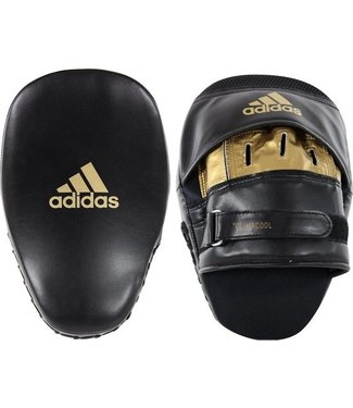 Adidas Boxing Pads Curved Economy Black