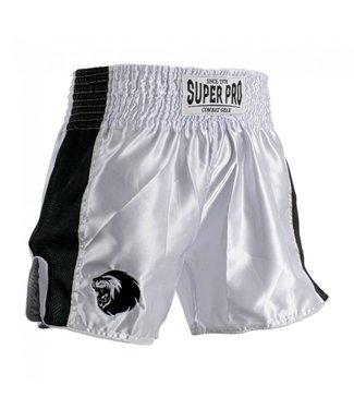 Super Pro Muay Thai Shorts Brave White