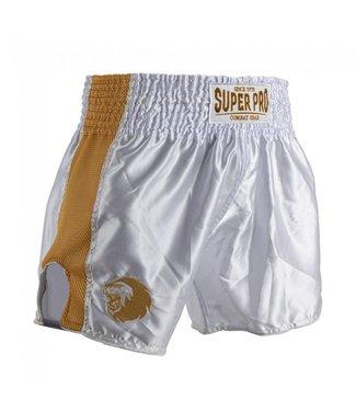Super Pro Muay Thai Shorts Brave Gold