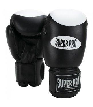 Super Pro Bokshandschoenen Boxer Pro Zwart
