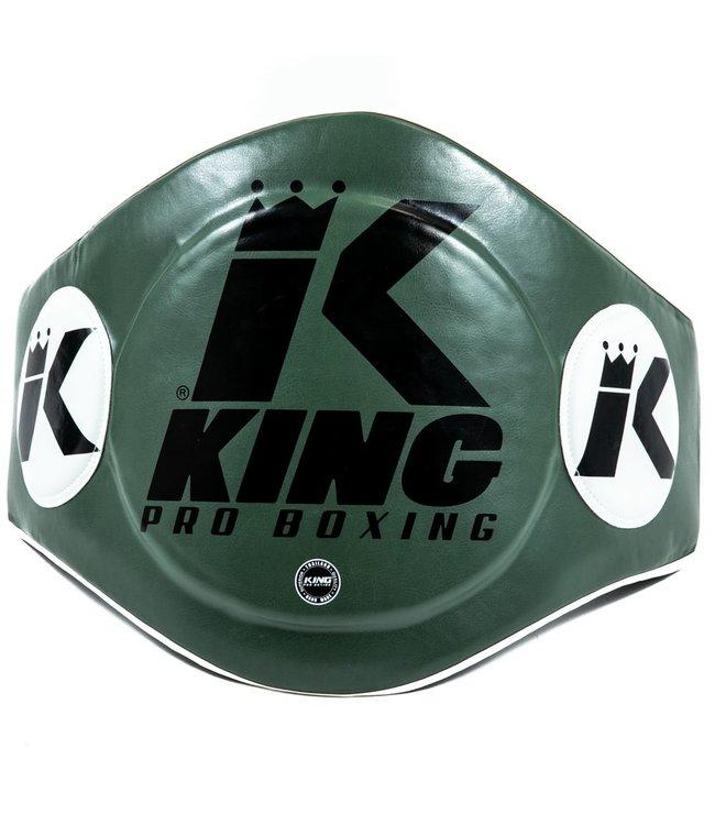 King Bellypad Groen/Zwart