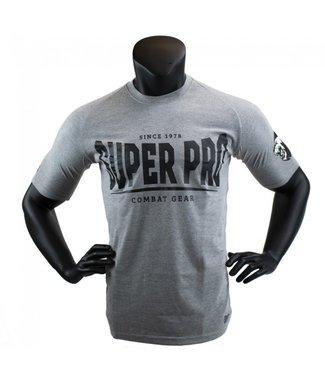 Super Pro T-shirt Grijs