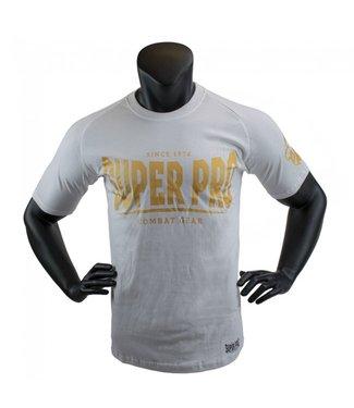 Super Pro T-shirt Wit