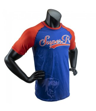 Super Pro Shirt Challenger Blauw