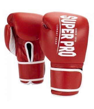 Super Pro Bokshandschoenen Winner Rood