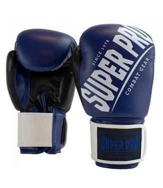 Super Pro Bokshandschoenen Rebel Blauw