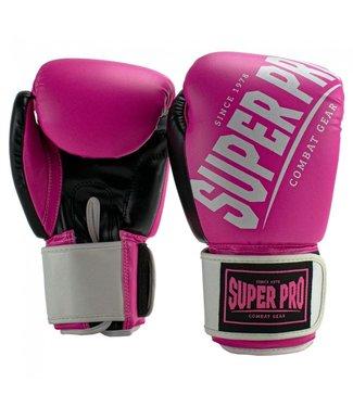 Super Pro Bokshandschoenen Rebel Roze