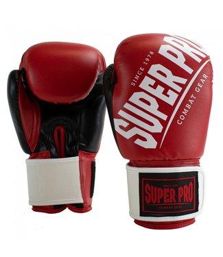Super Pro Bokshandschoenen Rebel Rood