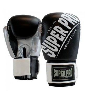 Super Pro Bokshandschoenen Rebel Zwart