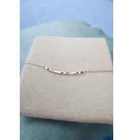 Muja Juma armband met staafje, zilver