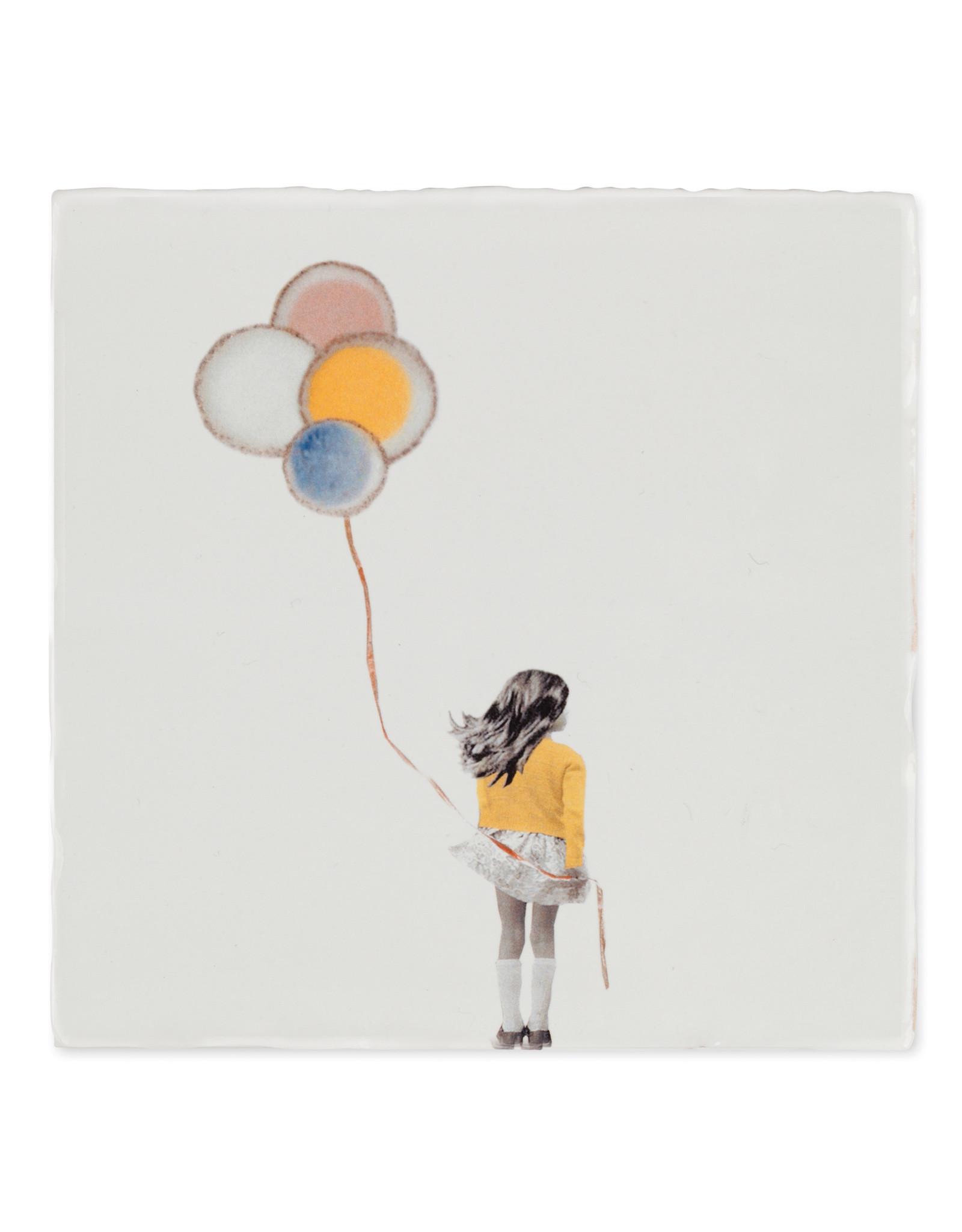 Storytiles Tegel - Een wensballon