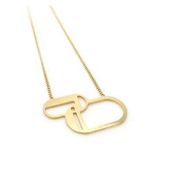 Nadja Carlotti Necklace alliance gold plated