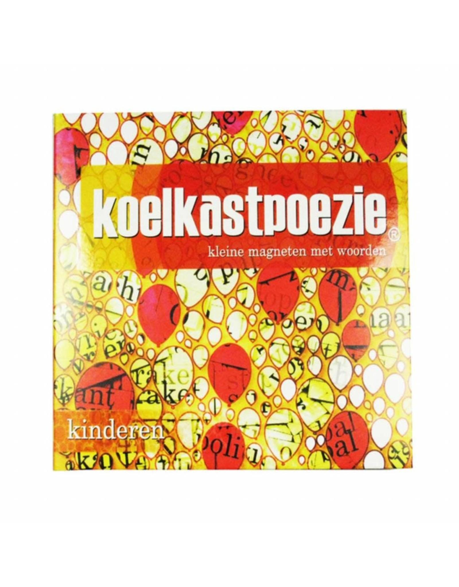 Koelkastpoezie Koelkastpoezie kinderen  / 510 magneten met woorden en delen van woorden