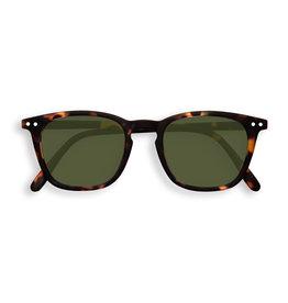 Izipizi Zonnebril #E Tortoise Green Lenses
