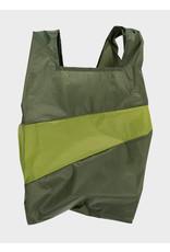 Susan Bijl Shopping Bag L - Kaki groen / Groen