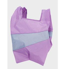 Susan Bijl Shopping Bag L - Lilac /blauw