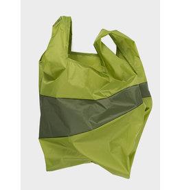 Susan Bijl Shopping Bag L - Groen / Kaki Groen