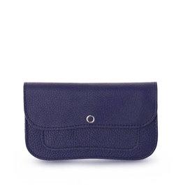 Keecie Cat chase medium wallet ink blue