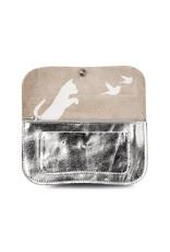 Keecie Cat chase medium wallet silver