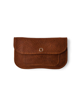 Keecie Cat Chase Small Wallet, Cognac used look