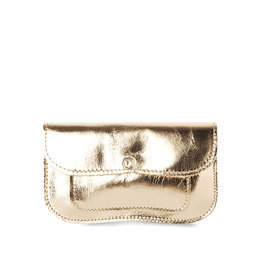 Keecie Cat Chase Small Wallet, Gold