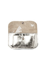 Keecie Cat chase small wallet silver