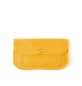 Keecie Cat chase small wallet yellow