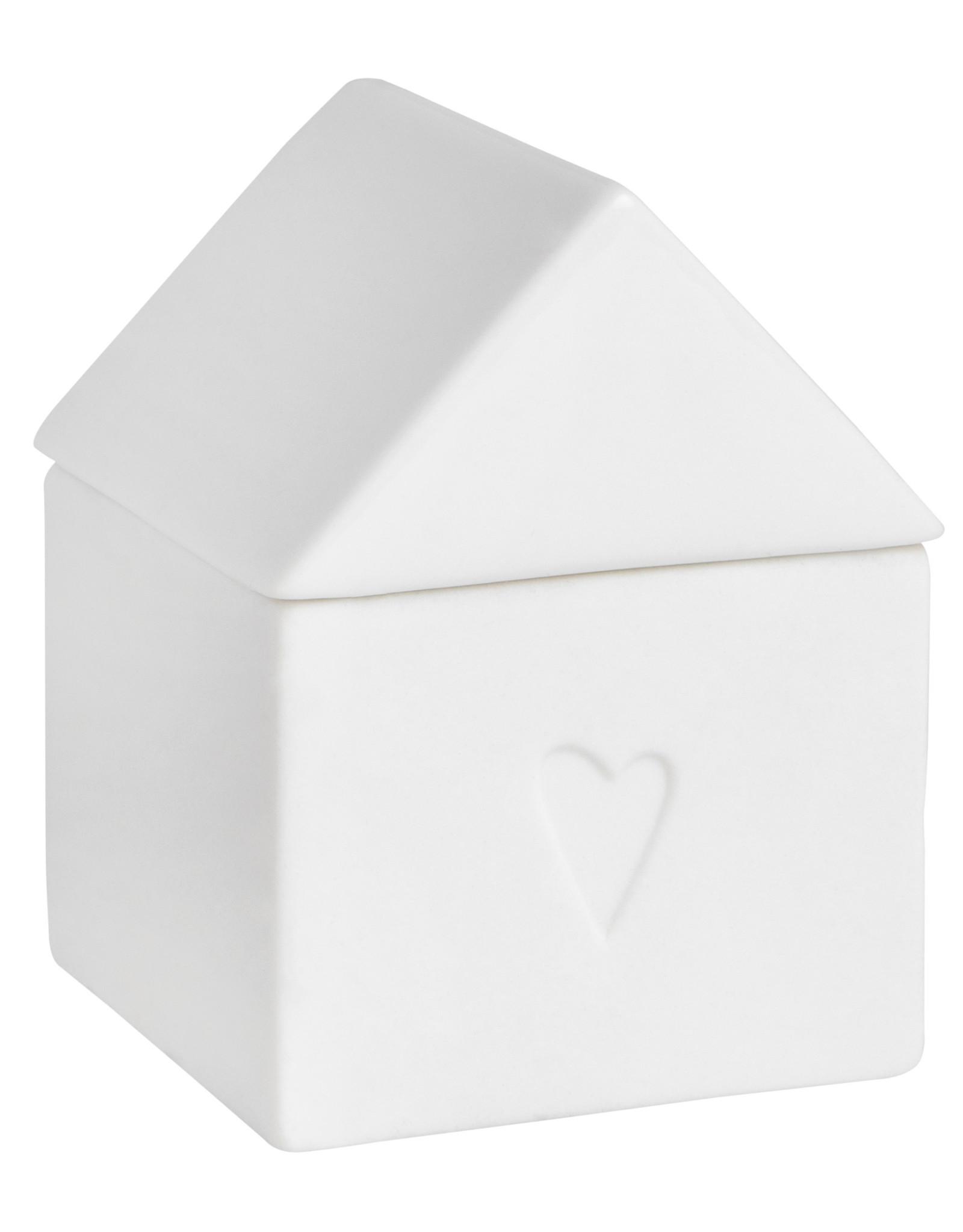 Raeder Huisje voor kleine schatten small heart 5x5x7cm