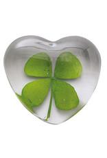Raeder Flower Power hearts glass clover