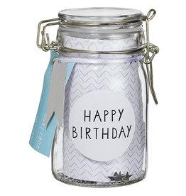 Raeder Gift glass- Happy Birthday