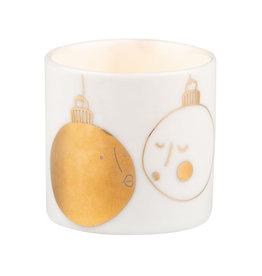 Raeder Theelicht mini kerstballen 4,5cm