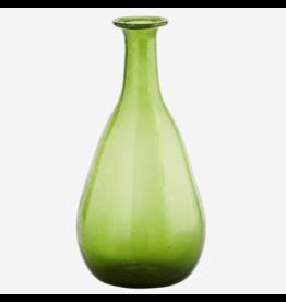 Madam Stolz Vaasje gerecycleerd glas groen 20cm