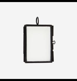 Madam Stolz Fotohouder hanger zwart mini 5x4