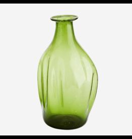 Madam Stolz Vaasje gerecycleerd glas groen 18cm