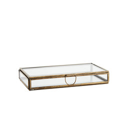 Madam Stolz Glazen doos rechthoek